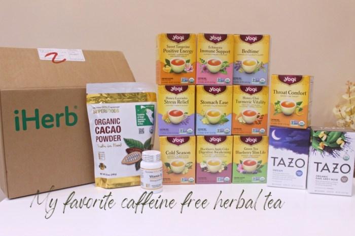 受保護的內容: 【iHerb】超划算的Yogi無咖啡因花草茶&TAZO Dream tea舒眠茶~