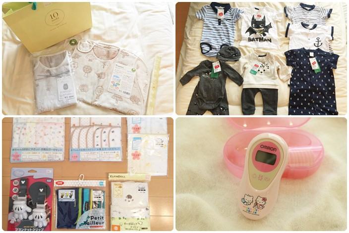 【2016東京Babymoon】旺財寶寶的戰利品(西松屋,H&M,Hoppetta,Omron)