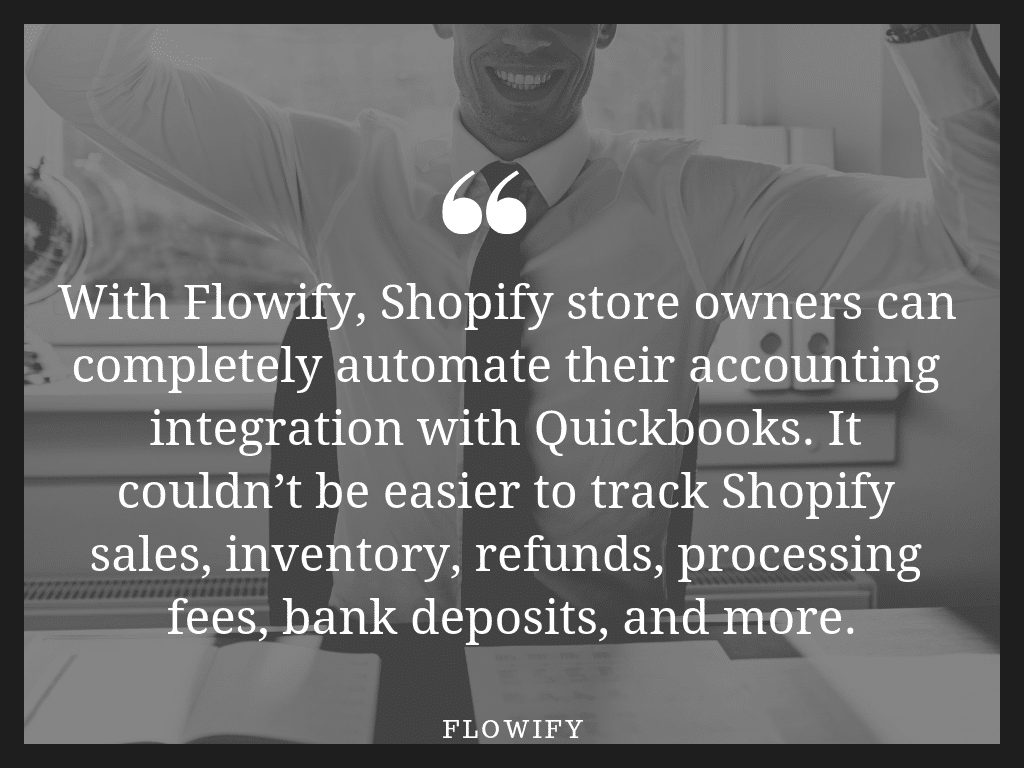 Shopify Quickbooks Flowify