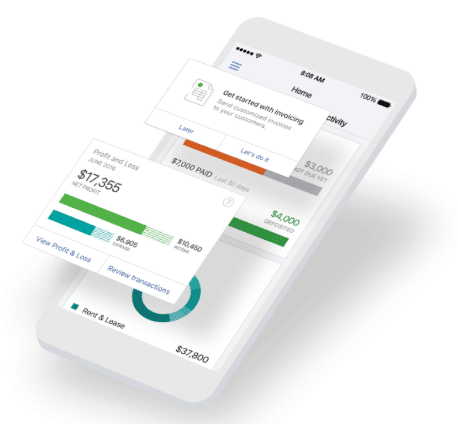 QuickBooks Mobile Shopify