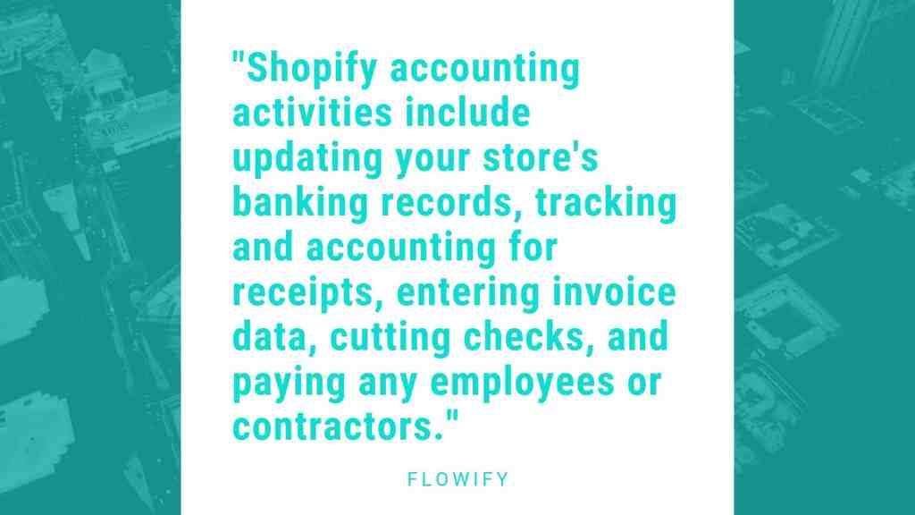 Shopify store accounting basics