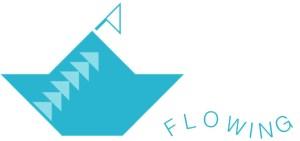 Flowing logo