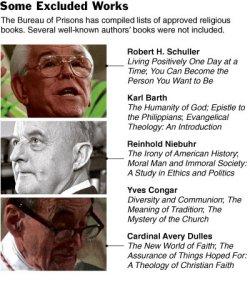 Religious Readings Not on List