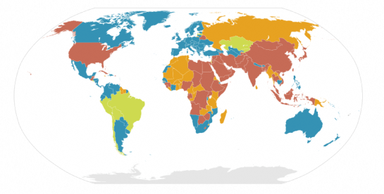 Penalty Laws Around the World | FlowingData on