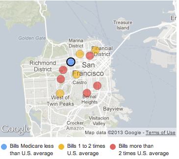 Medicare provider charge data released | FlowingData