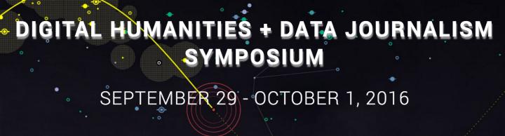 Digital Humanities + Data Journalism Symposium