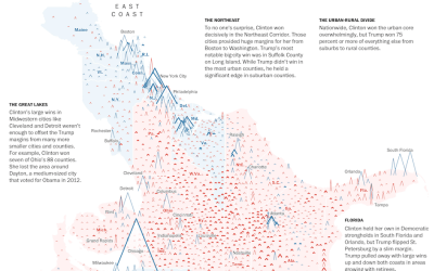 Election FlowingData - Isarithmic map us voting