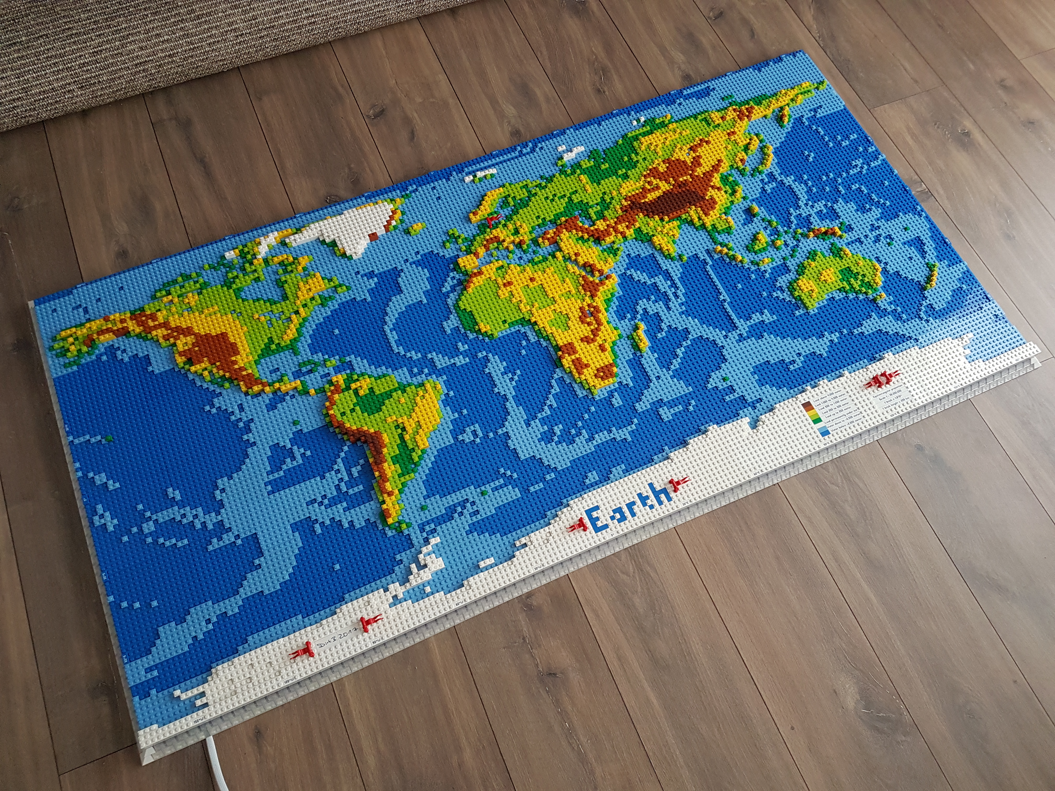Lego World map