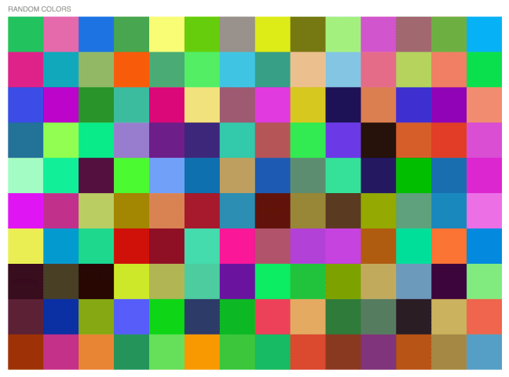 I Use To To Look At Palettes Of Random Colors Maybe Im Looking For A New Color Scheme Or Trying To Rework An Existing One