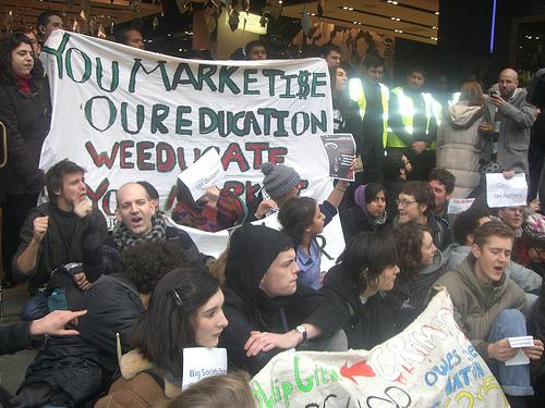 UK Uncut Demonstration 041210 by ucloccupation via Flickr