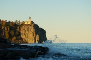 Split Rock Lighthouse in the Late Afternoon Sun by pmarkham via Flickr