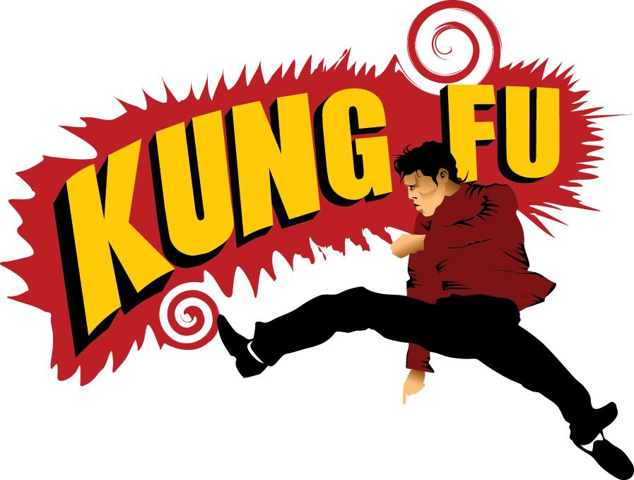 kung-fu-kick-pow-sign