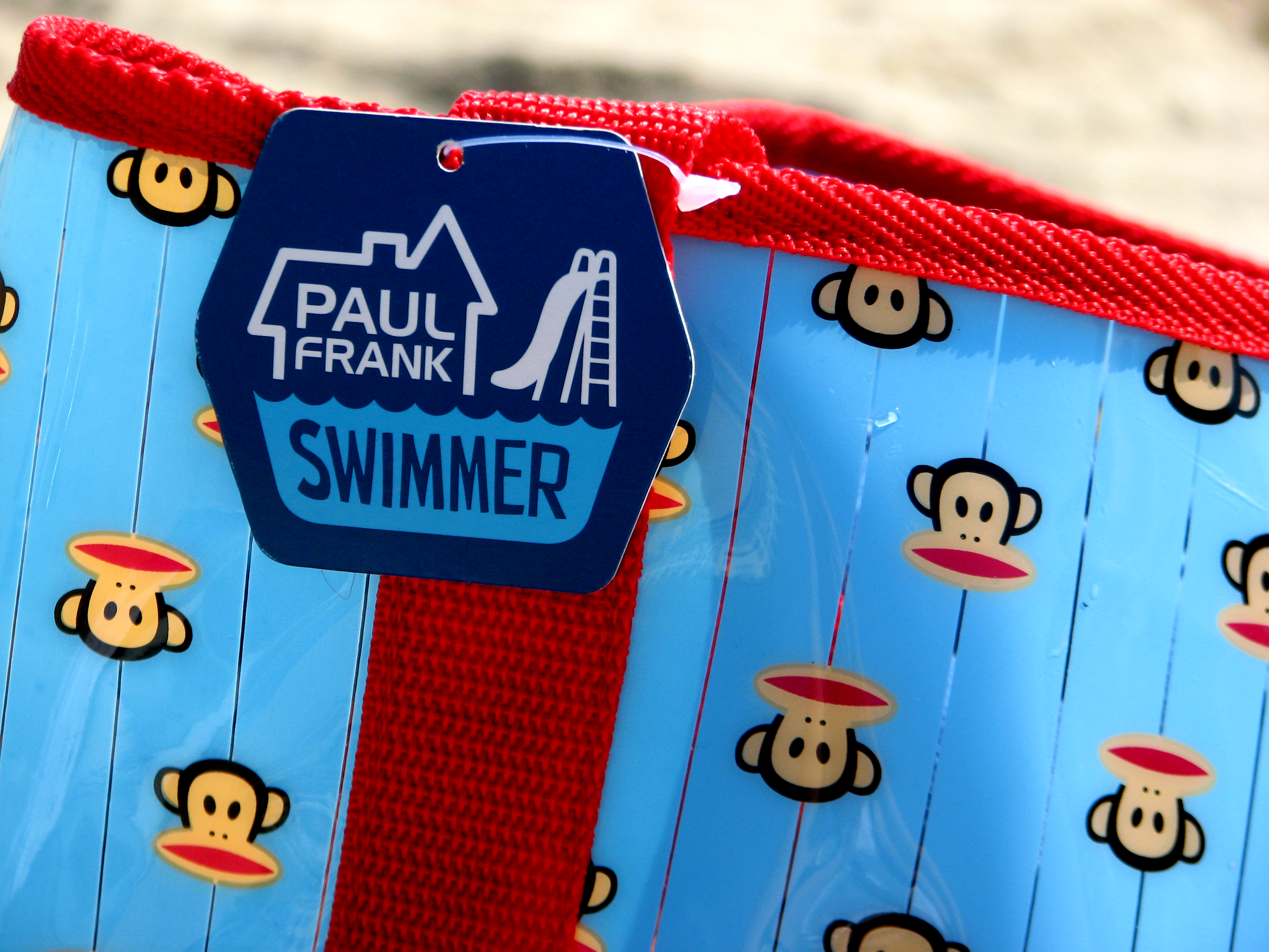 paul frank at the beach