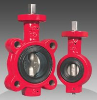 "series 70/71 1""-1.5"" industrial resilient seated butterfly valves"
