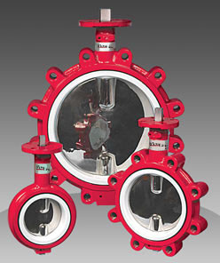 series 72/73 PTFE seated butterfly valve