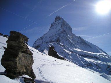 Beautiful view of the mountain
