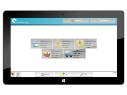 software gestão industrial, rastreabilidade, Flow, produção, indústria, alimentar