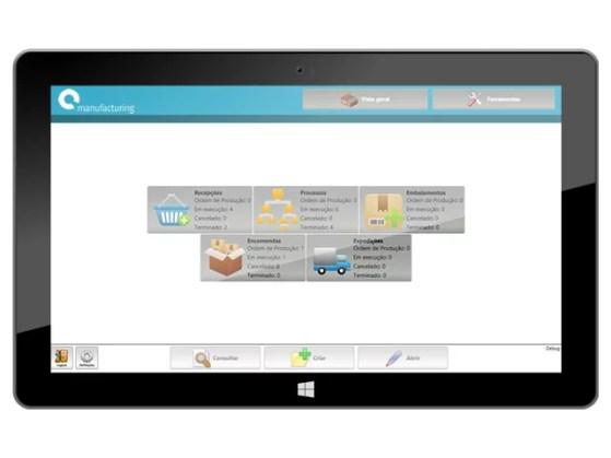 software gestão industrial, MES software, rastreabilidade, Flow, produção, indústria, alimentar