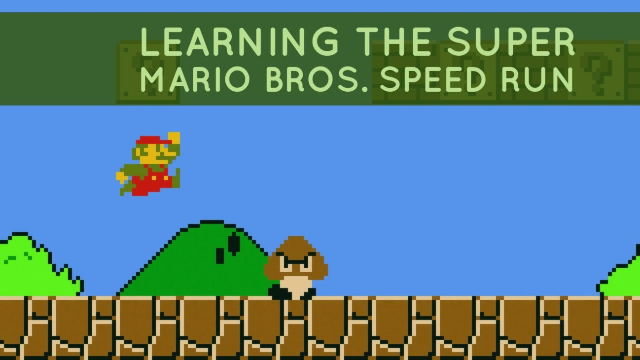 Learning the Super Mario Bros. Speed Run