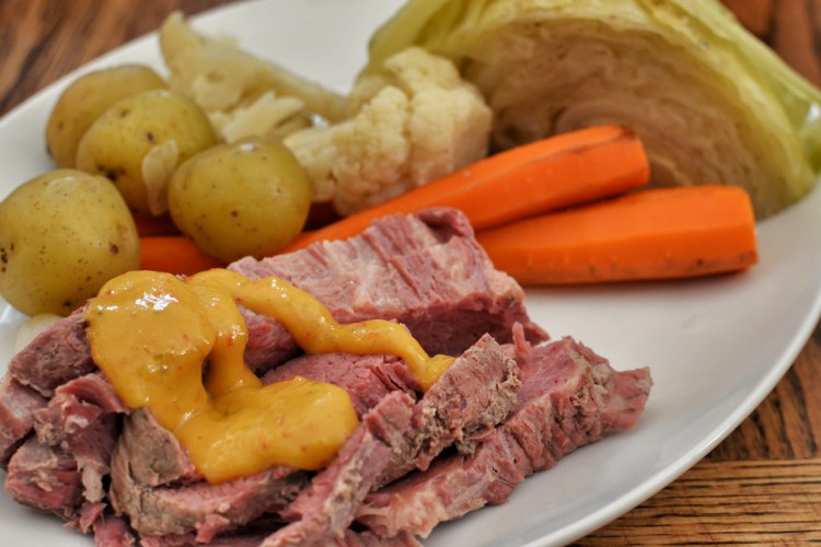 Homestead Corned Beef and Cabbage