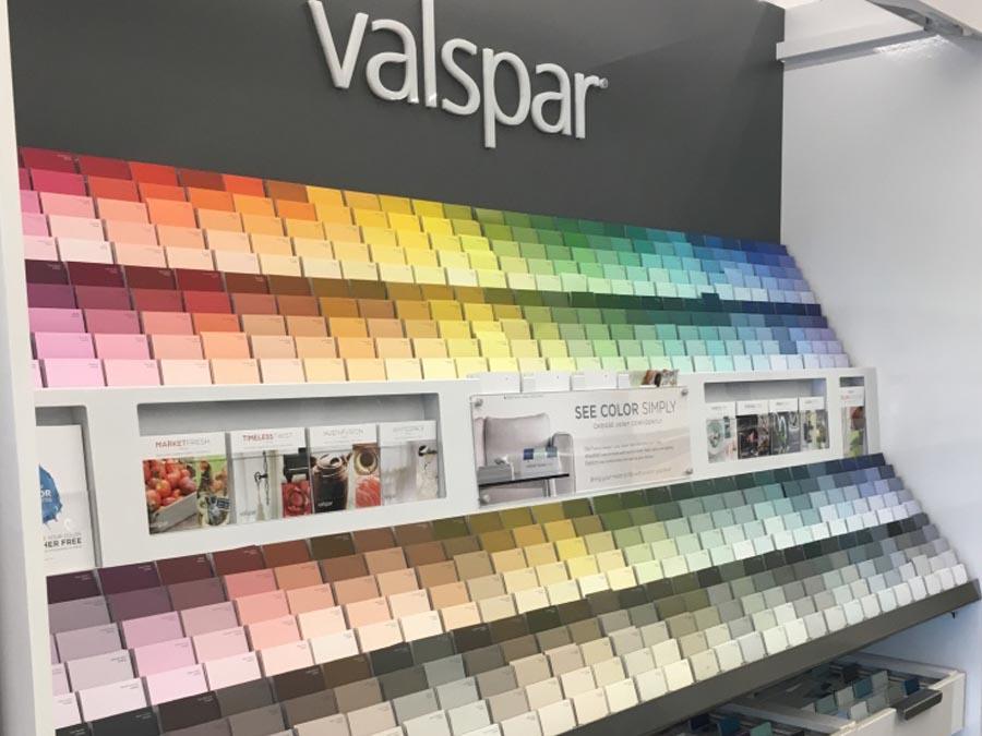 Valspar paint