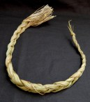 """Through burning, cleanses person of negative energy-USA-Native American-Sweet grass-21 1/2"""" long"""