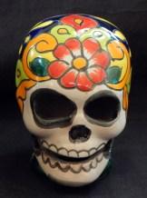 "Decoration for Day of the Dead (honors ancestors)-Latin America-Aztec/Spanish-Ceramic/glaze-5"" x 3 1/2"""