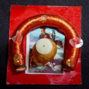 """Protection-Mexico-Mexican-Metal, thread, and paper- 1 1/2"""" x 1 1/2"""""""
