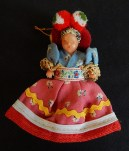 """Toy/Collectible-Hungary-Hungarian-Cloth/Plastic-4"""" tall"""