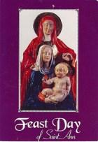 Prayer card to St. Ann de Beaupré (Feast Day)