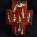 Cross with milagros (miracles)