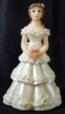 Figurine of Quinceañera (15 year old girl)