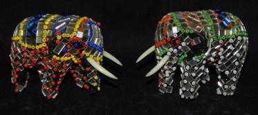 Mirrored elephants