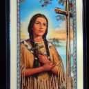 Prayer Card for Kateri Tekakwitha
