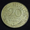 French coin (reverse side)