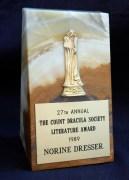 Count Dracula Society Literature Award 1989