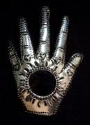 Hand, Hamsa, with mirror