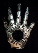 Hand, Hamsa, with mirror