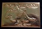Depiction of charging Cheyenne Indian on horseback