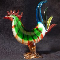 The Barcelos Rooster (left side)