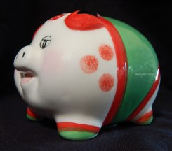 Piggy bank (side view)