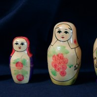 Matryoshka-Russian Nesting Dolls (Peasant Women) The first matryoshka was created in 1892.