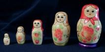 Russian Nesting Dolls (Peasant Women)