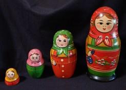 Russian Nesting Dolls (circa 1950)