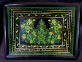 Small lacquered tray