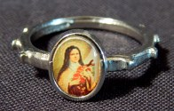 Basque Rosary Ring for Girls