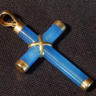 Cross-necklace charm