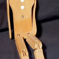 Limber Jack (An articulated dancing doll.)