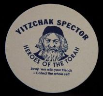Famous Orthodox Rabbi-Yitzchak Spector