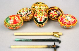 Zetaruk was a master artist mentoring apprentices in the pysanky tradition well into her mid-90s.